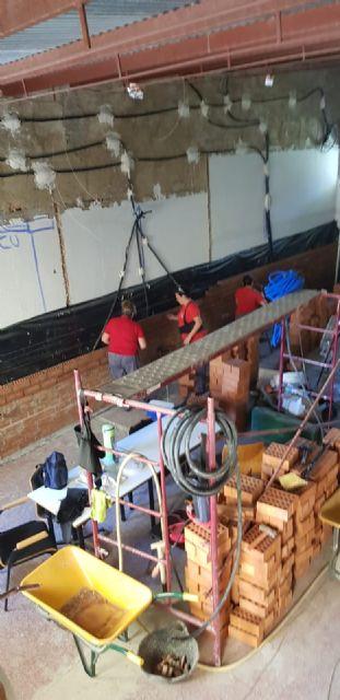 Un programa integrado por desempleados está reformando el antiguo Lavadero municipal para convertirlo en un Centro de interpretación de la Sima de la Higuera - 3, Foto 3