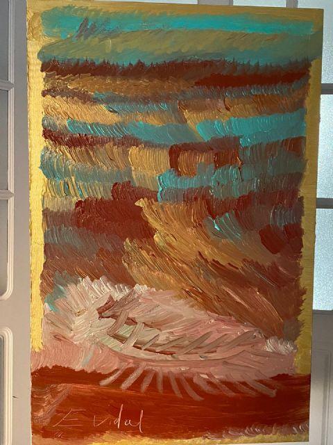 El español Eduardo Vidal y su técnica abstracta única cuestan hasta 3 millones de euros - 2, Foto 2