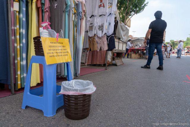 El mercadillo del Cénit abrirá los sábados de diciembre - 1, Foto 1