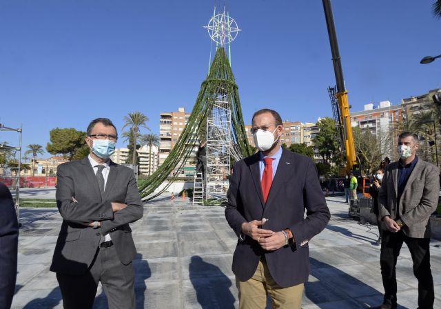 El Gran Árbol vuelve a La Circular conciliando la luz de la Navidad murciana con las restricciones sanitarias - 3, Foto 3