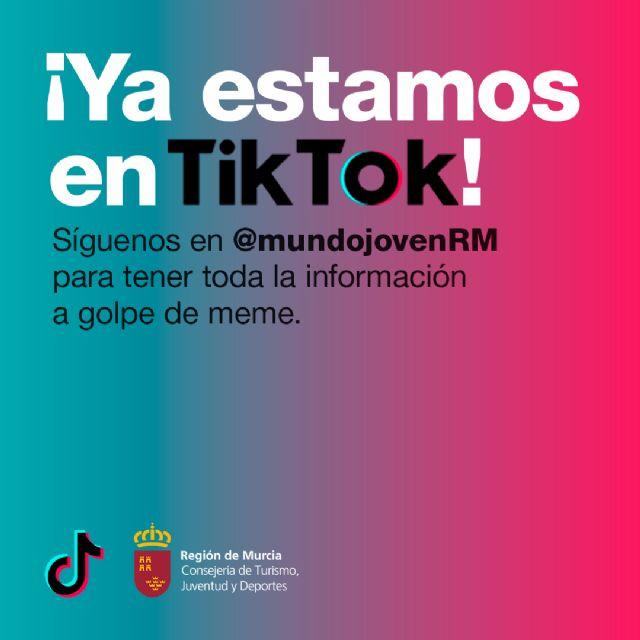 La Consejería de Turismo, Juventud y Deportes estrena perfil en la red social Tik Tok para potenciar la creatividad de los jóvenes - 1, Foto 1