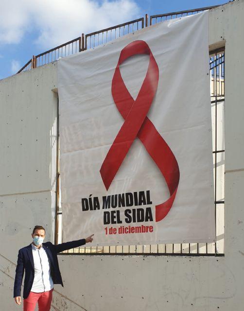 Molina de Segura conmemora el Día Mundial del SIDA hoy martes 1 de diciembre y se suma a la campaña SI DUDAS, NO LO DUDES: Hazte la prueba del VIH/SIDA - 3, Foto 3