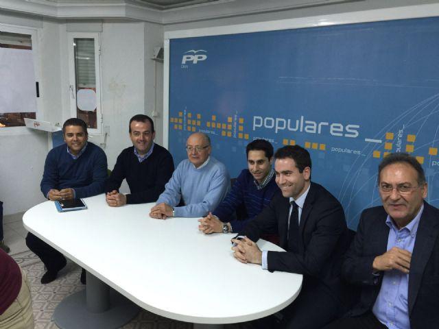 Reunión Junta Directiva del PP de Cieza. - 1, Foto 1