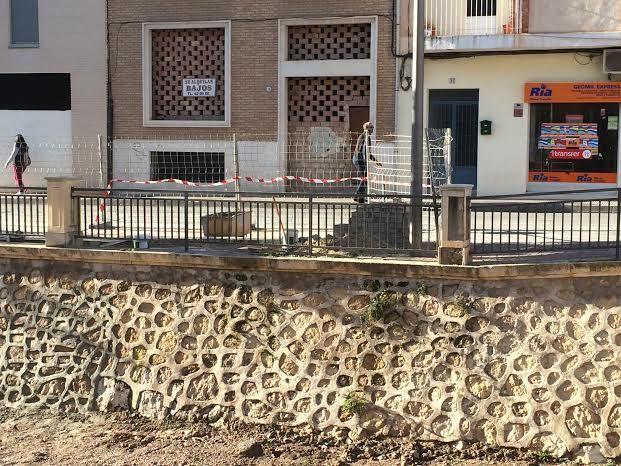 Finalizan las obras de acondicionamiento en uno de los muros de la rambla de La Santa para evitar filtraciones al cauce, Foto 2