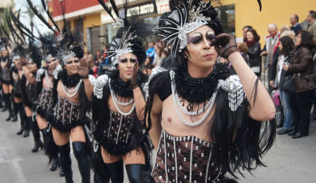 The Carnival parade of foreign rocks of February 13 with the participation of 17 local clubs and outside Totana 9, Foto 2