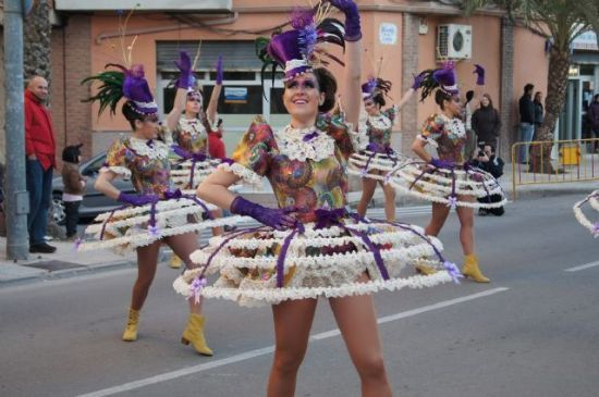 The Carnival parade of foreign rocks of February 13 with the participation of 17 local clubs and outside Totana 9, Foto 3
