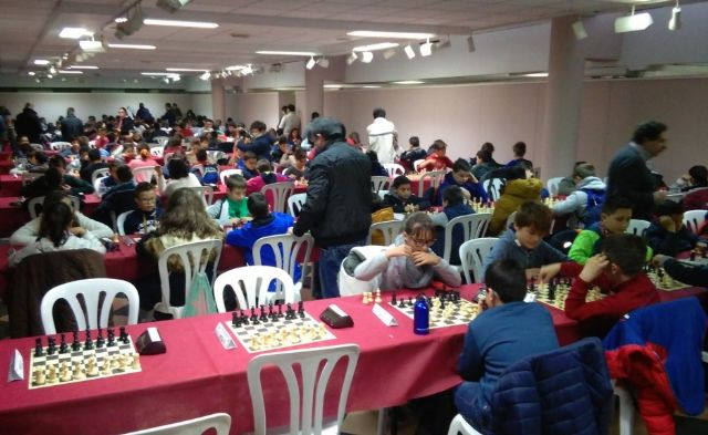Totana hosted the 1st Regional Conference of School Sports Chess - 1