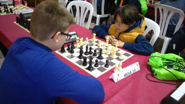Totana hosted the 1st Regional Conference of School Sports Chess - 2