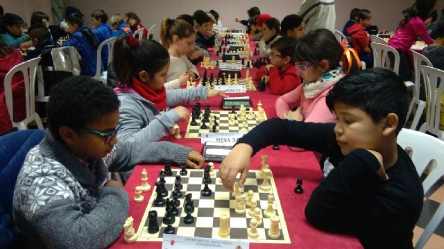 Totana hosted the 1st Regional Conference of School Sports Chess - 3