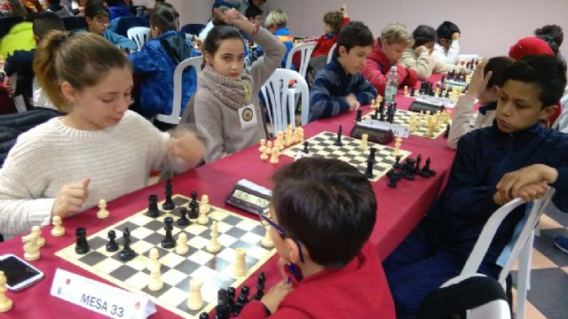 Totana hosted the 1st Regional Conference of School Sports Chess - 4