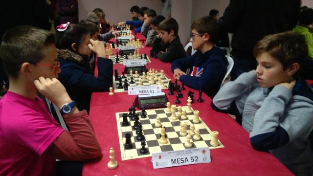 Totana hosted the 1st Regional Conference of School Sports Chess - 5