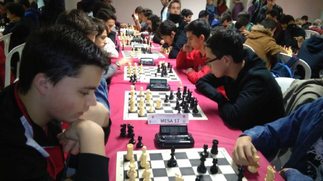 Totana hosted the 1st Regional Conference of School Sports Chess - 6