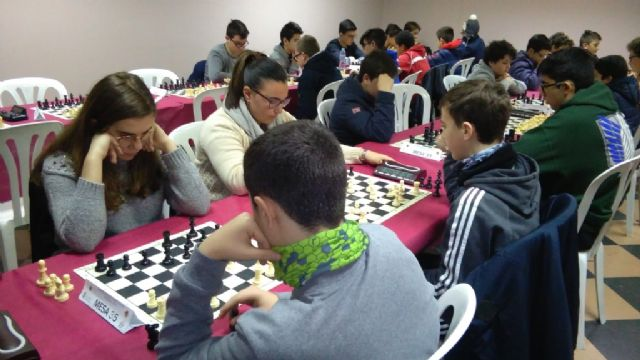 Totana hosted the 1st Regional Conference of School Sports Chess - 7