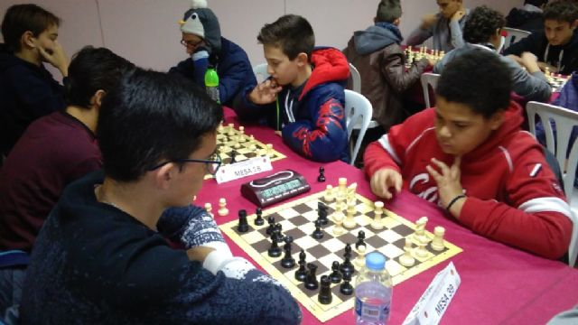 Totana hosted the 1st Regional Conference of School Sports Chess - 8