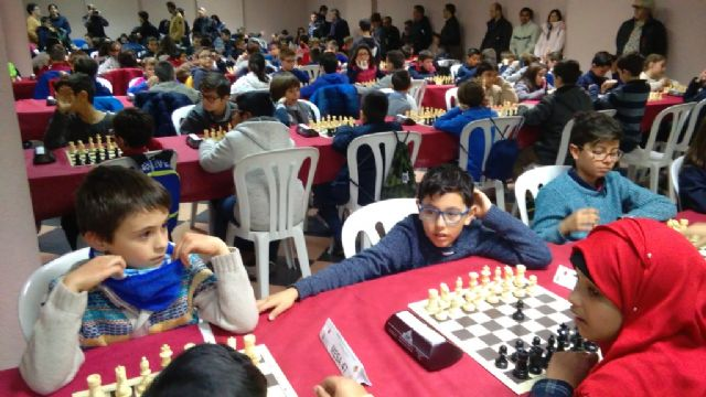 Totana hosted the 1st Regional Conference of School Sports Chess - 9