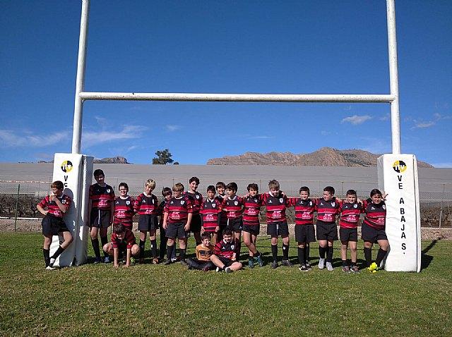 Los partidos del club rugby Totana, en las categor�as sub 8 sub 10 y sub 12, se disputaron ayer en Orihuela, Foto 2
