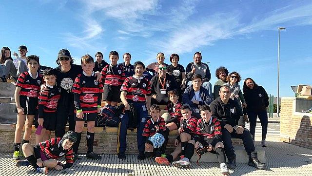 Los partidos del club rugby Totana, en las categor�as sub 8 sub 10 y sub 12, se disputaron ayer en Orihuela, Foto 3
