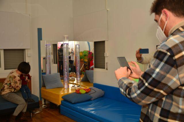 Automatizan y controlan con móvil una sala multisensorial de ASTUS para personas con discapacidad intelectual - 2, Foto 2