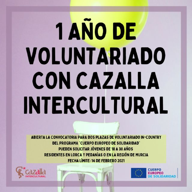 Ofertas de Voluntariado en Cazalla Intercultural - 1, Foto 1