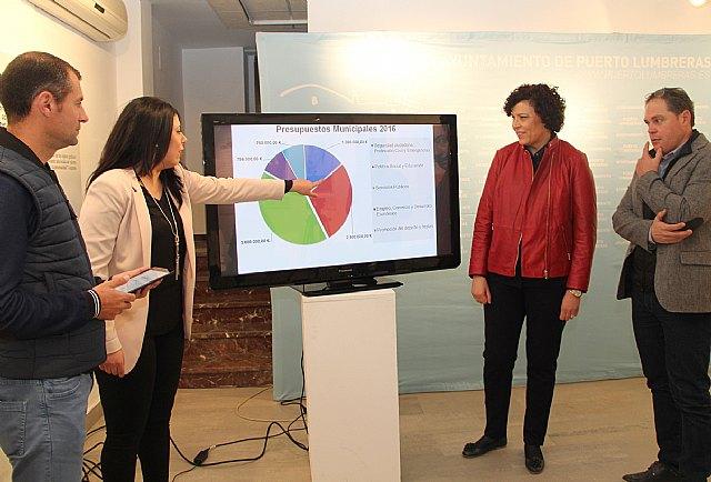 La Alcaldesa presenta los presupuestos municipales para 2016 con un aumento del 20% en ayudas sociales - 1, Foto 1