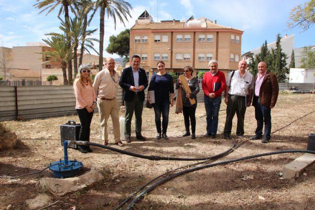 Recogida de muestras del agua termal de Alhama, Foto 5