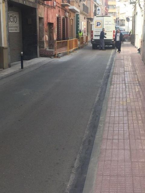 Acometen obras de acondicionamiento y mejora en las aceras en un tramo urbano de la avenida Santa Eulalia, Foto 3