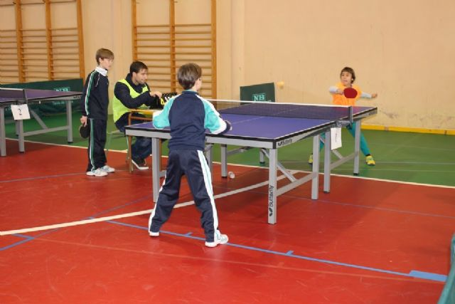 Regional End of School Sports Table Tennis