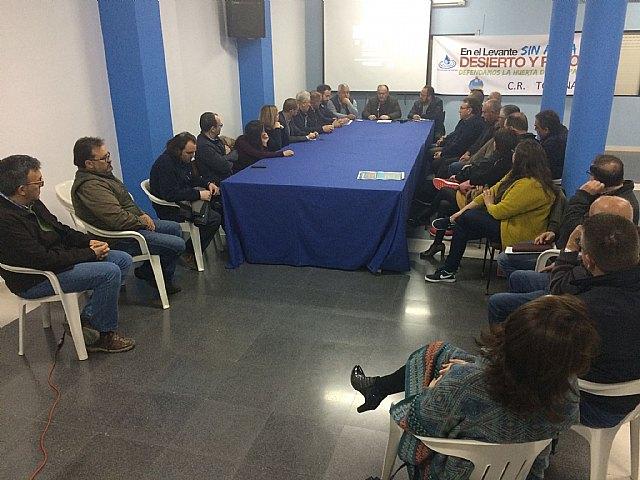 Comunicado Comunidad de Regantes con motivo de la manifestación programada en Madrid para el día 7 de marzo, Foto 1