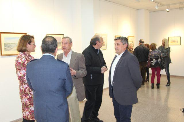 Juan Luis Ibarreta plasma la luz y la belleza del Mar Menor en una exposición con fines solidarios - 1, Foto 1