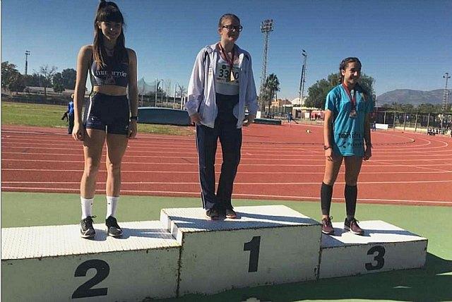Cinco medallas para el Club Atletismo Mazarrón en el Regional Sub-18, con triplete para Miriam Sáez - 4, Foto 4
