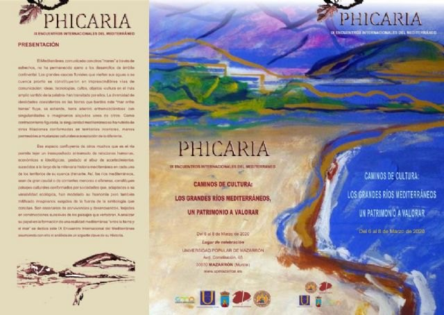 Comunicación de suspensión de los IX Encuentros Internacionales Phicaria - 1, Foto 1