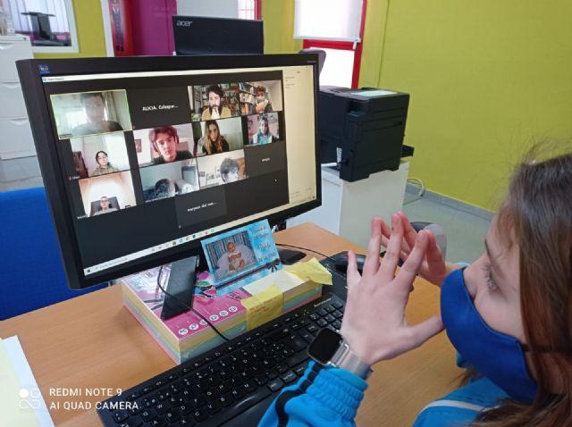 El Consejo de Infancia y Adolescencia Local de Calasparra participa en el taller virtual de Participación Infantil y Juvenil en clave ODS - 1, Foto 1