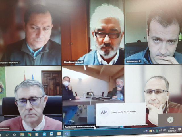 El Presidente de la CHS ha mantenido una reunión de trabajo con el Alcalde de Mazarrón, Foto 1