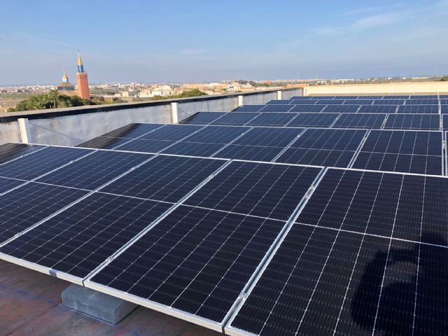 El Ayuntamiento pone en funcionamiento  placas fotovoltaicas para autoconsumo eléctrico en el edificio consistorial - 1, Foto 1
