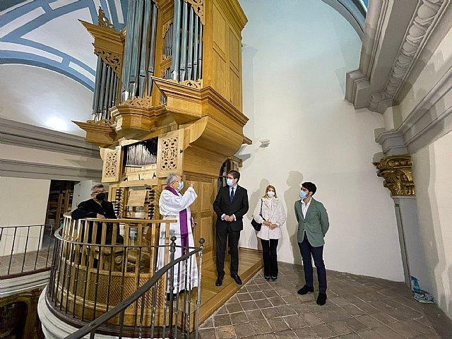 La iglesia de San Miguel acoge el ciclo de órgano 30 minutos de música para el alma - 1, Foto 1