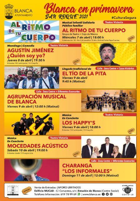 Presentada la programación Blanca en Primavera  San Roque 2021 - 2, Foto 2