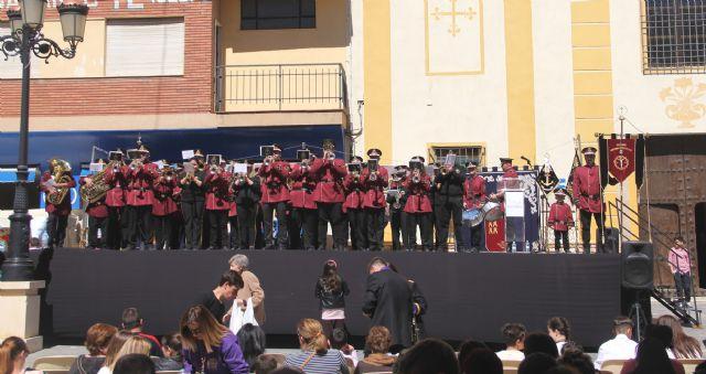 250 músicos participan en el Encuentro de Bandas de Tambores y Cornetas de Semana Santa en Puerto Lumbreras - 1, Foto 1