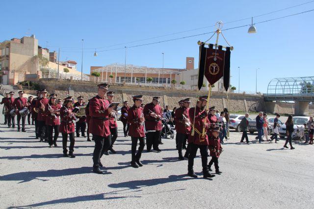 250 músicos participan en el Encuentro de Bandas de Tambores y Cornetas de Semana Santa en Puerto Lumbreras - 2, Foto 2