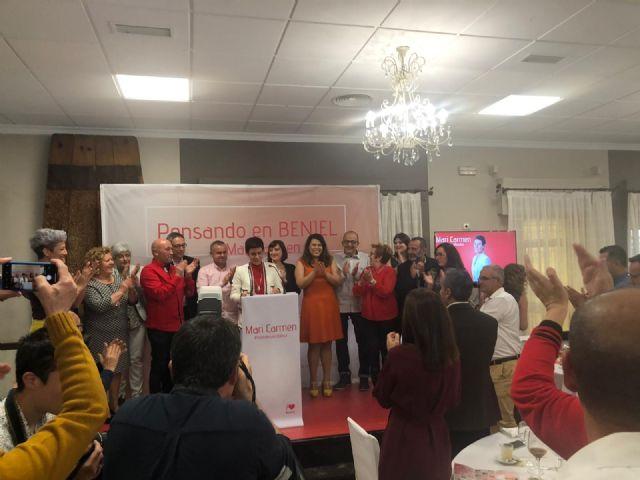 Mari Carmen Morales presenta a los miembros de su candidatura con gran éxito de asistencia - 1, Foto 1