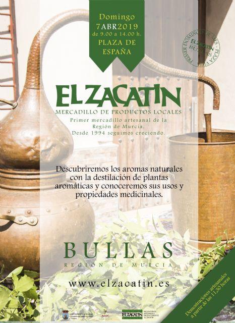 'El Zacatín' de abril enseña cómo se destilan las plantas aromáticas y qué propiedades tienen - 1, Foto 1