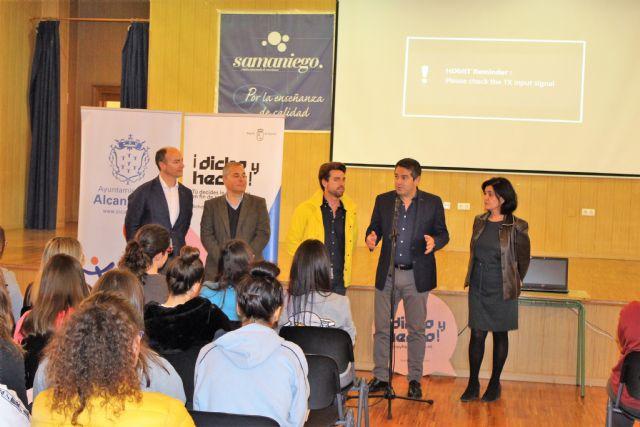Los jóvenes de Alcantarilla conocen el Certamen Región de Murcia Joven 2.0 y el Programa Dicho y Hecho - 2, Foto 2