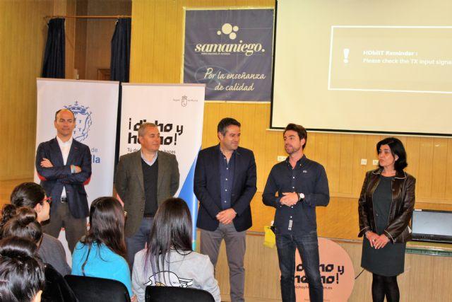 Los jóvenes de Alcantarilla conocen el Certamen Región de Murcia Joven 2.0 y el Programa Dicho y Hecho - 3, Foto 3