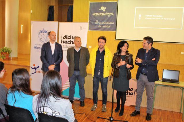 Los jóvenes de Alcantarilla conocen el Certamen Región de Murcia Joven 2.0 y el Programa Dicho y Hecho - 4, Foto 4