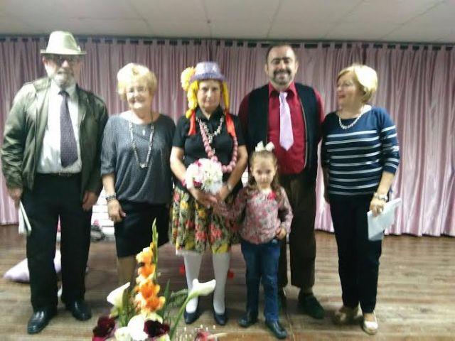 Más de un centenar de socios asisten a la actividad de teatro organizada en el Centro Municipal de Personas Mayores, de la plaza Balsa Vieja, Foto 4