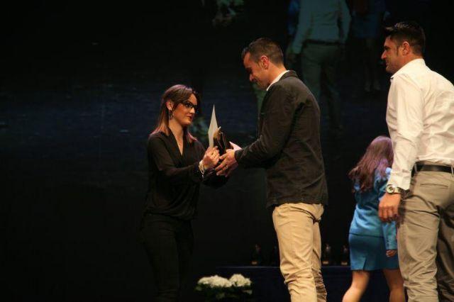 La 30° subida a La Santa recibe el galardón como mejor evento deportivo de la Región de Murcia en el año 2015, Foto 2