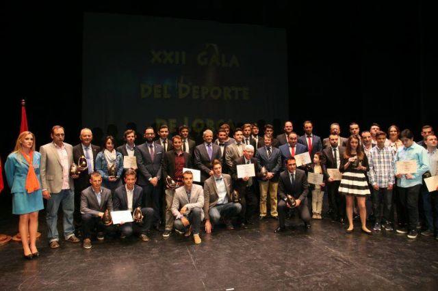 La 30° subida a La Santa recibe el galardón como mejor evento deportivo de la Región de Murcia en el año 2015, Foto 3