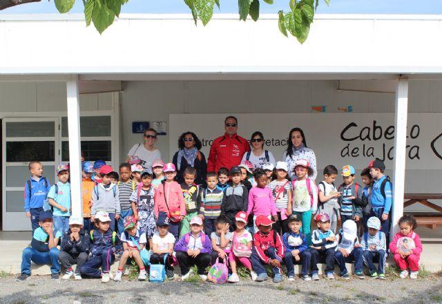 Los alumnos del colegio San Cristóbal de Lorca visitan el Sendero Astronómico y el Centro de Interpretación de la Naturaleza del Cabezo de la Jara - 2, Foto 2