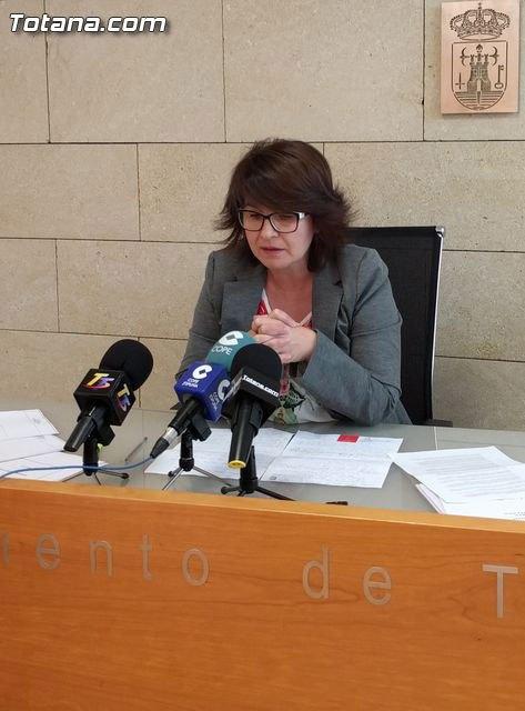 Rueda de prensa PP Totana, valoración Pleno abril 2016, Foto 1