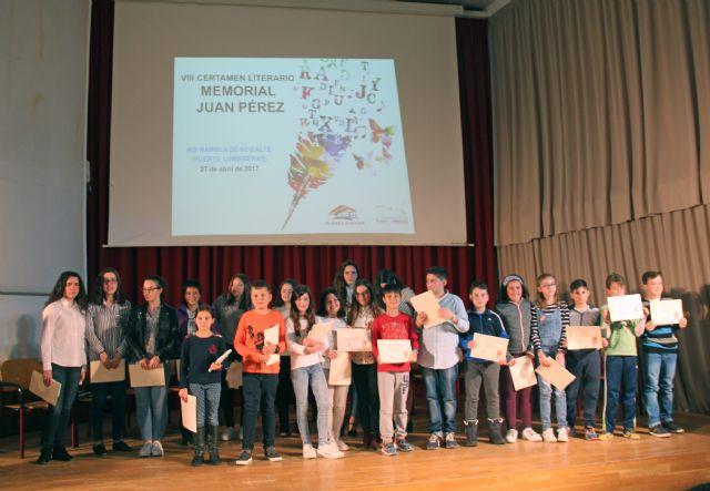 Más de 200 jóvenes participan en el Certamen Literario Memoria Juan Pérez - 2, Foto 2