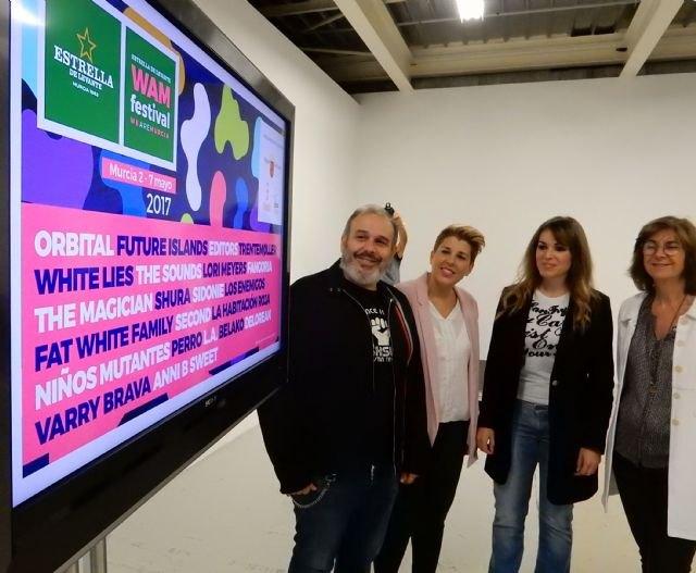 El ´WAM Estrella de Levante´ arranca hoy y llenará Murcia de música, danza, arte y cine hasta el domingo - 1, Foto 1
